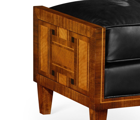 Jonathan Charles - Transitional Footstool - 495294-BLL