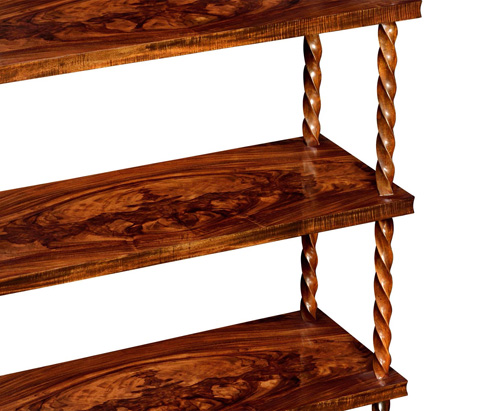 Jonathan Charles - Walnut Bookcase - 495348-WLL