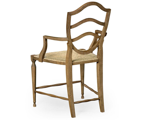 Jonathan Charles - Bodiam Arm Chair - 530000-WO-AC