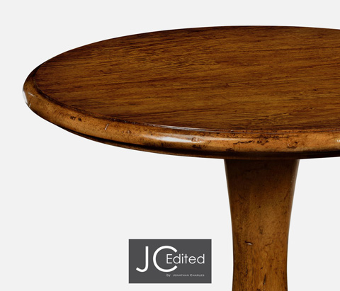 Jonathan Charles - Country Walnut Tall Cocktail Table - 491016-CFW