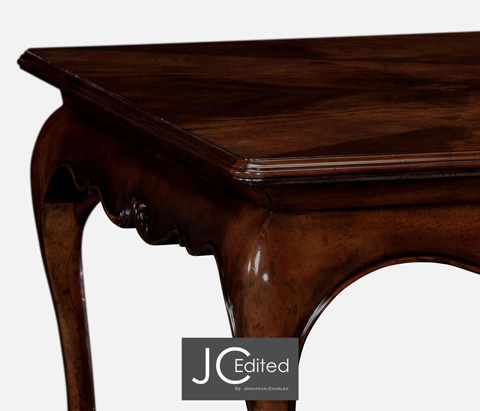 Jonathan Charles - Rectangular Coffee Table in Antique Mahogany - 491028