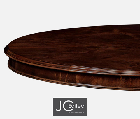 Jonathan Charles - Breakfast Table in Antique Mahogany - 491030