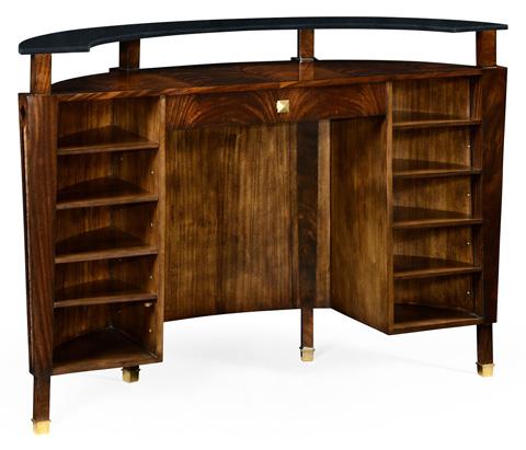 Jonathan Charles - Brown Mahogany Registration Desk - 495069