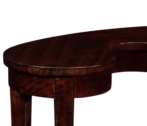 Jonathan Charles - Kidney Shaped End Table - 495395-BEC