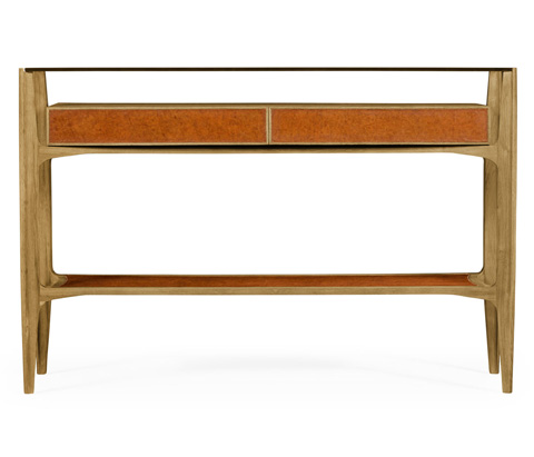 Jonathan Charles - Architects Console Table with Drawers - 495430