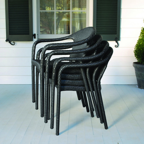 Kingsley-Bate - Cafe Stackable Dining Arm Chair - FE15