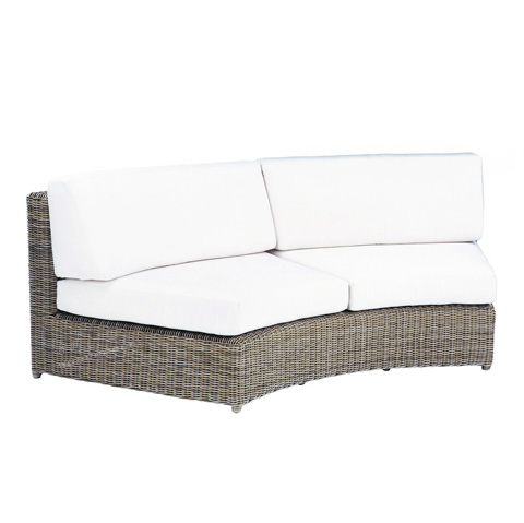 Image of Sag Harbor Curved Armless Settee