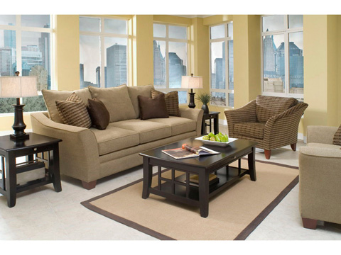 Klaussner Home Furnishings - Posen Sofa - 83844 S