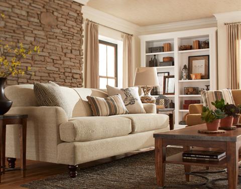 Klaussner Home Furnishings - Trisha Yearwood Yukon Sofa - K52400 S
