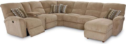 Lane Home Furnishings - Grand Torino Reclining Sectional - 230