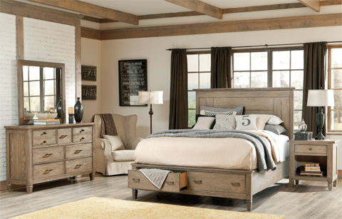 Legacy Classic Furniture - California King Storage Panel Bed - 2760-4107SK