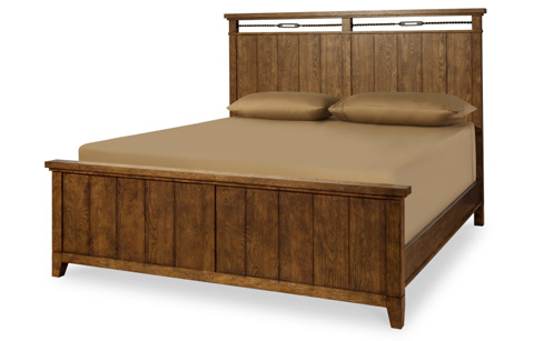 Image of River Run California King Panel Bed