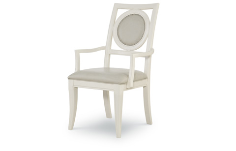 Legacy Classic Furniture - Upholstered Back Arm Chair - 5010-141 KD