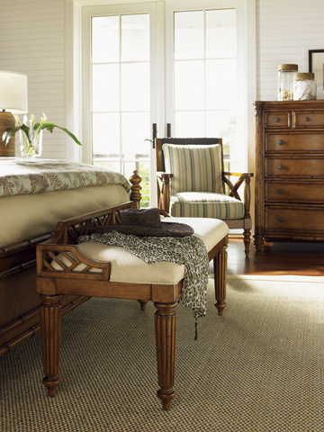 Tommy Bahama - Plantain Bed Bench - 531-536-01