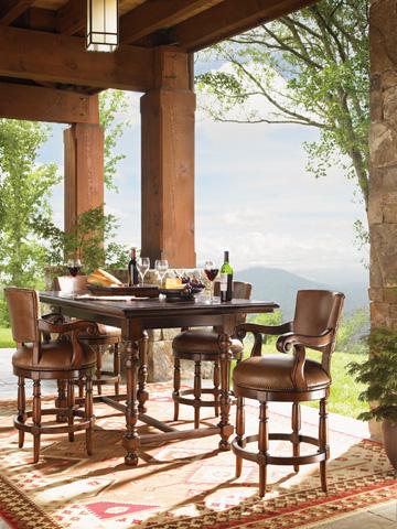 Lexington Home Brands - Pinnacle Counter Stool - 455-815-01