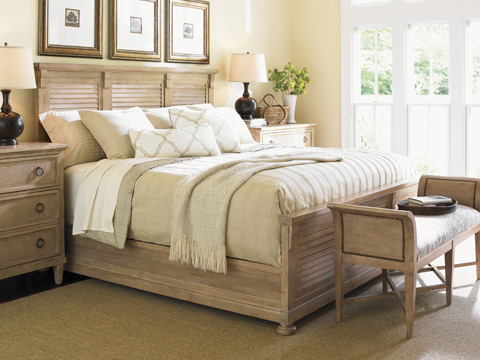 Lexington Home Brands - Cypress Point Bed 6/6 King - 830-144C