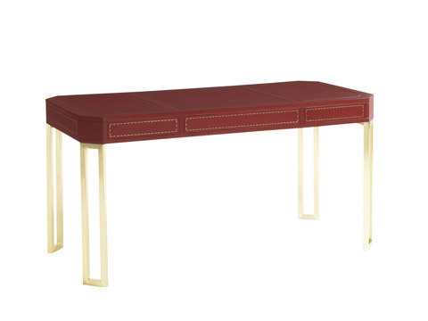Lexington Home Brands - Mandarin Red Writing Desk - 100RD-404