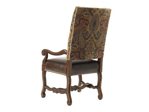Lexington Home Brands - Camden Leather Arm Chair - LL1612-13
