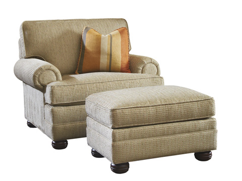 Lexington Home Brands - Overland Ottoman - 7451-44