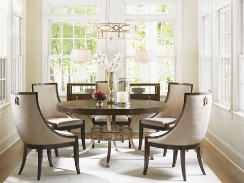 Lexington Home Brands - Talbott Upholstered Host Chair - 706-884-01