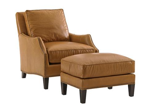 Lexington Home Brands - Ashton Leather Ottoman - 7118-44-01