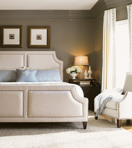 Lexington Home Brands - King Chadwick Upholstered Bed - 708-144C