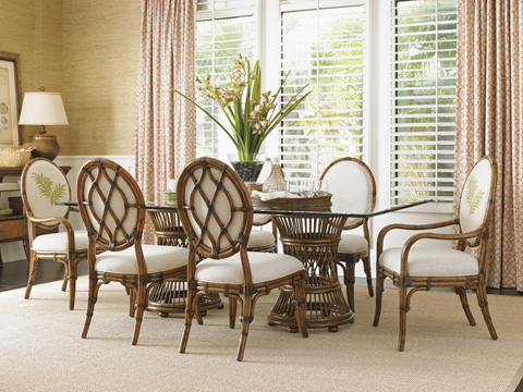 Tommy Bahama - Gulfstream Oval Back Side Chair - 593-880-01