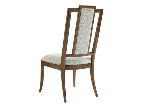 Tommy Bahama - St. Barts Splat Back Side Chair - 593-882