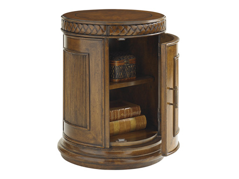 Tommy Bahama - Belize Round End Table - 593-950