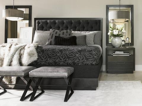 Lexington Home Brands - Lola Leather Ottoman - LL1790-44AA