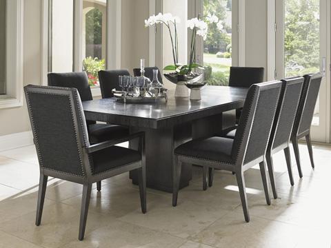 Lexington Home Brands - Modena Double Pedestal Dining Table - 911-876C