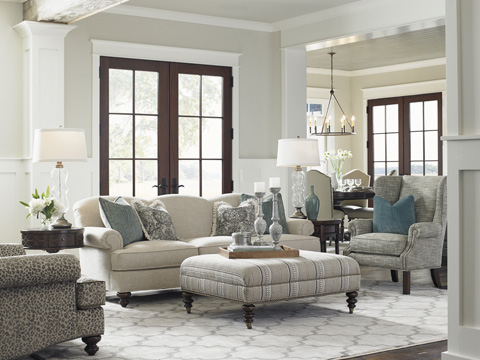 Lexington Home Brands - Logan Wing Chair - 7207-11
