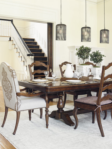 Lexington Home Brands - Chestnut Hills Upholstered Arm Chair - 945-883