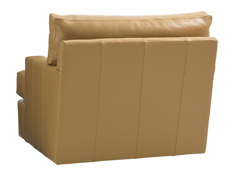 Lexington Home Brands - Osaka Leather Swivel Chair - 7294-11SW-01