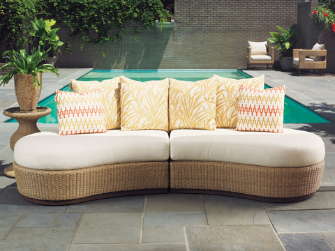 Tommy Bahama - Armless Sofa Sectional - 3220-SECTIONAL