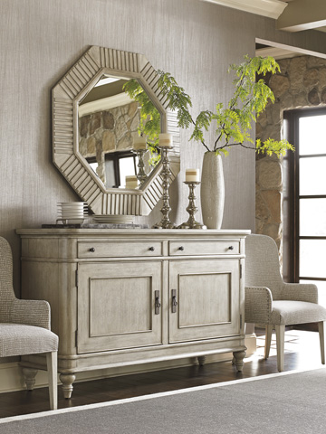 Lexington Home Brands - Selden Octagonal Mirror - 714-204