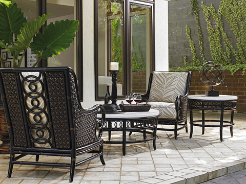 Lexington Home Brands - Outdoor Lounge Chair - 3237-11