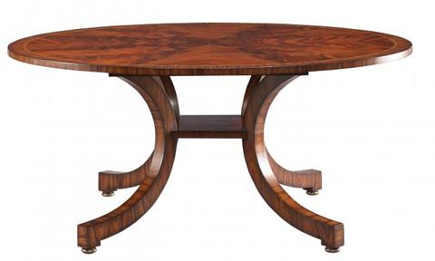 Lillian August Fine Furniture - Portman Bow Leg Dining Table - LA82011-01
