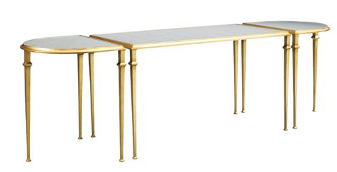Lillian August Fine Furniture - Tria Cocktail Table with Mirrored Top - LA95311-01