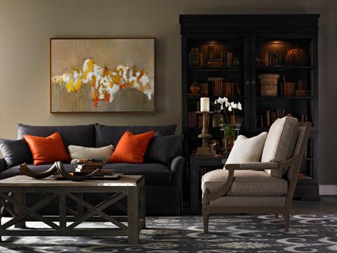 Lillian August Fine Furniture - Mayfair Court Sofa - LA7127S