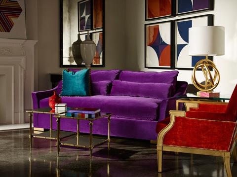 Lillian August Fine Furniture - Winston Sofa - LA9105S