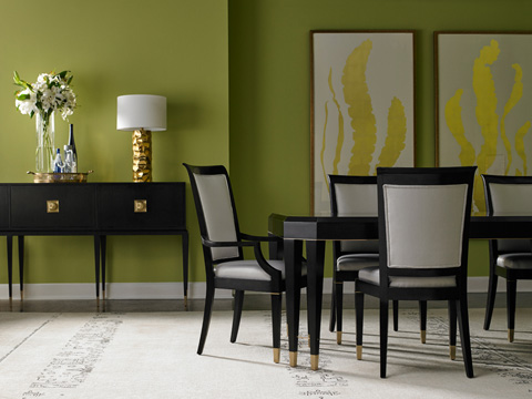 Lillian August Fine Furniture - Noir Dining Table - LA17014-01