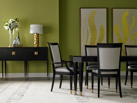 Lillian August Fine Furniture - Noir Armless Chair - LA6022AC