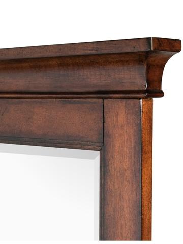 Magnussen Home - Cherry Double Dresser with Landscape Mirror - B1398-22/40