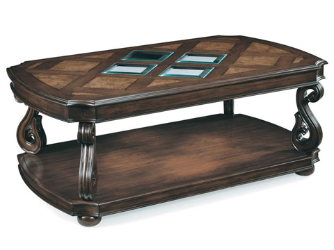 Magnussen Home - Rectangular Cocktail Table - T1648-43