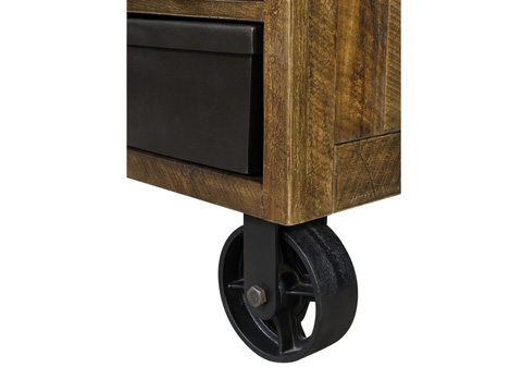 Magnussen Home - Drawer Nightstand with Casters - Y2377-01