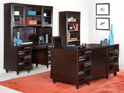 Magnussen Home - Credenza with Hutch - H1794-30H
