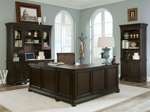Magnussen Home - Credenza with Hutch - H2354-30H