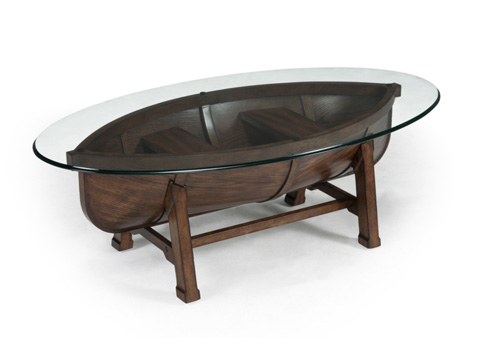 Magnussen Home - Oval Cocktail Table - T2214-47