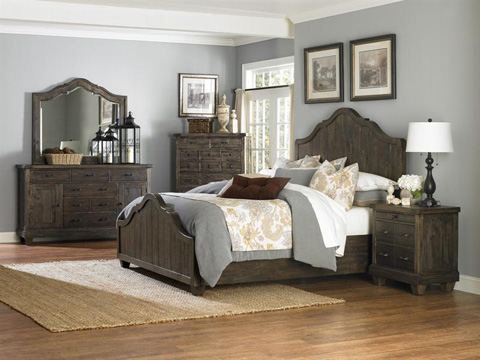 Magnussen Home - California King Panel Bed - B2524-74